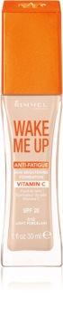 Rimmel Wake Me Up rozjasňujúci tekutý make-up SPF 20