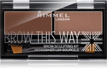 Rimmel Brow This Way paleta para maquilhagem de sobrancelhas
