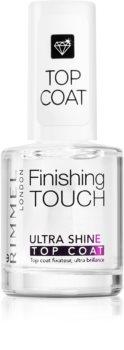 Rimmel Finishing Touch Ultra Shine финален лак за съвършена защита и интензивен блясък