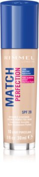 Rimmel Match Perfection base líquida SPF 20