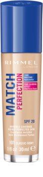 Rimmel Match Perfection Flüssiges Make Up SPF 20