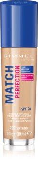Rimmel Match Perfection течен фон дьо тен SPF 20