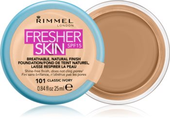 Rimmel Fresher Skin ultraleichtes Foundation LSF 15