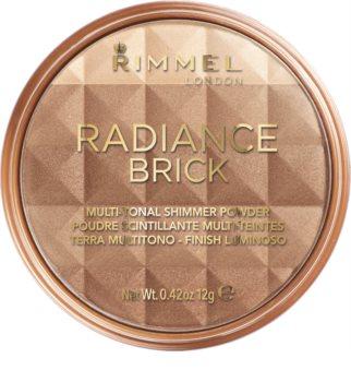 Rimmel Radiance Brick highliting Bronzer Puder