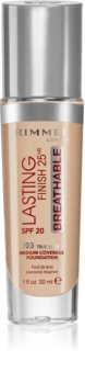 Rimmel Lasting Finish 25H Breathable folyékony make-up SPF 20