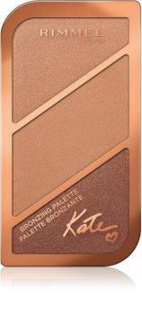 Rimmel Kate Palette mit Bronzepuder