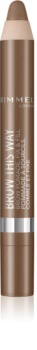 Rimmel Brow This Way pommade-gel sourcils en crayon