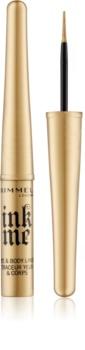 Rimmel Ink Me Eye & Body Liner Flüssige Eyeliner