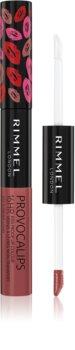 Rimmel Provocalips couleur et brillant à lèvres bi-phasée