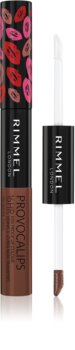 Rimmel Provocalips Biphasic Lasting Color And Lip Gloss