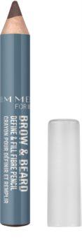 Rimmel For Men Brow & Beard crayon pour sourcils pour homme