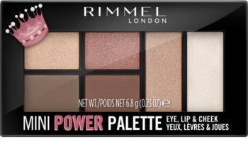 Rimmel Mini Power Palette paletka pro celou tvář
