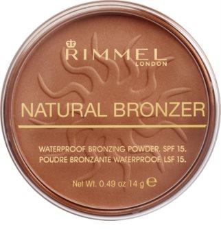 Rimmel Natural Bronzer terra abbronzante waterproof SPF 15