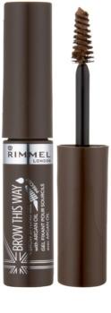 Rimmel Brow This Way gel pro úpravu obočí