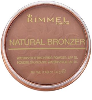 Rimmel Natural Bronzer vodootporni bronzer u kamenu SPF 15