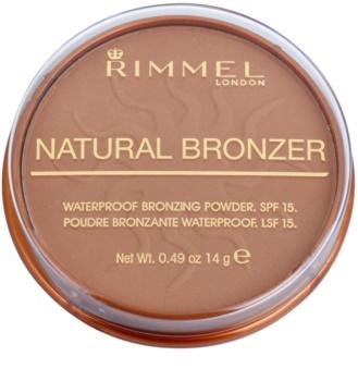 Rimmel Natural Bronzer vodeodolný bronzujúci púder SPF 15