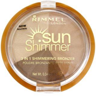 Rimmel Sun Shimmer glitzerndes Bronzepuder