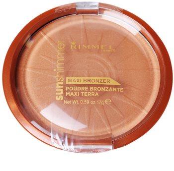 Rimmel Sun Shimmer Maxi Bronzer bronzující pudr