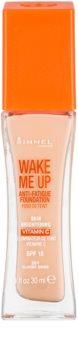 Rimmel Wake Me Up rozjasňujúci tekutý make-up SPF 15