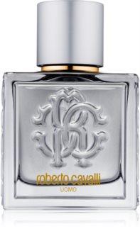 Roberto Cavalli Uomo Silver Essence Eau de Toilette για άντρες