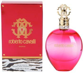 Roberto Cavalli Exotica toaletní voda pro ženy 75 ml