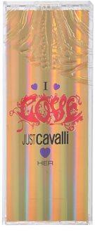 Roberto Cavalli Just Cavalli I Love Her eau de toilette para mujer 60 ml