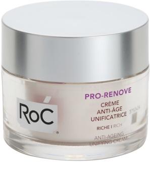 RoC Pro-Renove crème nourrissante unifiante anti-âge
