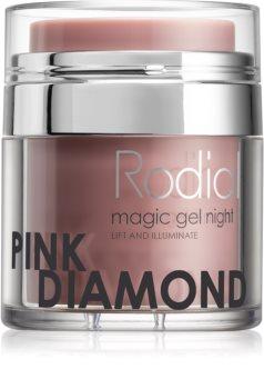 Rodial Pink Diamond żel do twarzy na noc