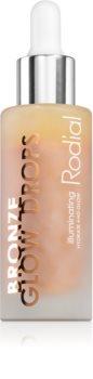 Rodial Booster Drops Bronze Glow Drops protivráskové rozjasňující sérum
