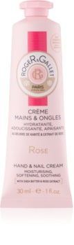 Roger & Gallet Rose crema per mani e unghie con burro di karité e estratto di rose
