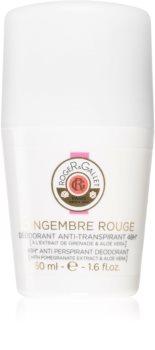 Roger & Gallet Gingembre Rouge antiperspirant roll-on