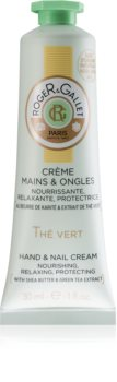 Roger & Gallet Thé Vert Skyddande närande kräm för händer och naglar för Kvinnor