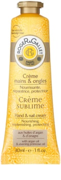 Roger & Gallet Bois d'Orange Sublime crema para manos y uñas