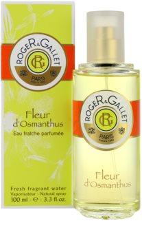 Roger & Gallet Fleur d'Osmanthus água refrescante para mulheres