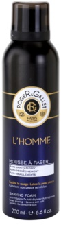Roger & Gallet Homme espuma de afeitar