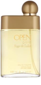 Roger & Gallet Open Gold eau de toilette para homens 100 ml