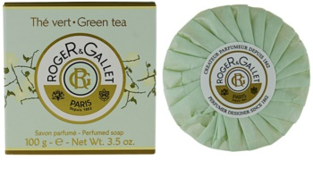 Roger & Gallet Thé Vert sapone solido in scatola