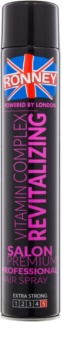 Ronney Vitamin Complex Revitalizing spray regenerador para uma fixação extra forte