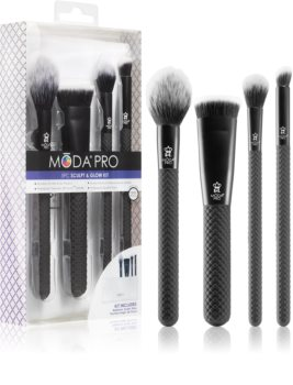 Royal and Langnickel Moda Pro Brush Set for Face
