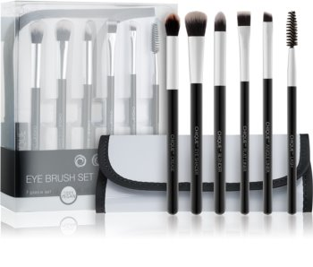 Royal and Langnickel Chique Black Brush Set for Eye Area