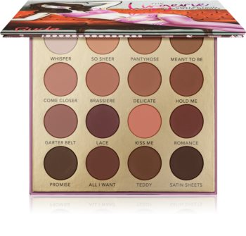 Rude Cosmetics The Lingerie Collection Romantic Nights Eyeshadow Palette