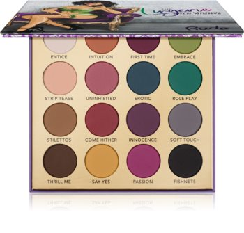 Rude Cosmetics The Lingerie Collection Wild Nights Lidschatten-Palette