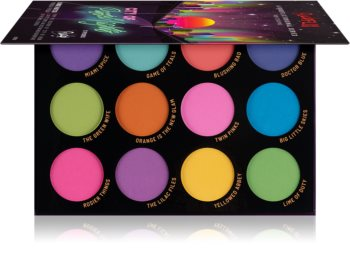Rude Cosmetics City of Pastel Lights Eyeshadow Palette
