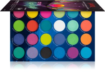 Rude Cosmetics City of Neon Lights palette di ombretti