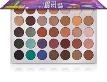 Rude Cosmetics Return Of The Jet Eyeshadows palette de fards à paupières