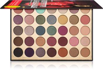 Rude Cosmetics Rudementary Speyeshadows paleta očních stínů