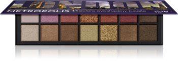 Rude Cosmetics Metropolis London Lidschatten-Palette