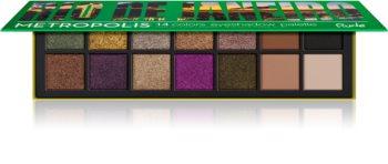 Rude Cosmetics Metropolis Rio De Janeiro Eyeshadow Palette