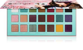 Rude Cosmetics Blackjack Bad Girl paleta očních stínů
