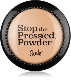 Rude Cosmetics Stop The Press(ed) Powder poudre compacte
